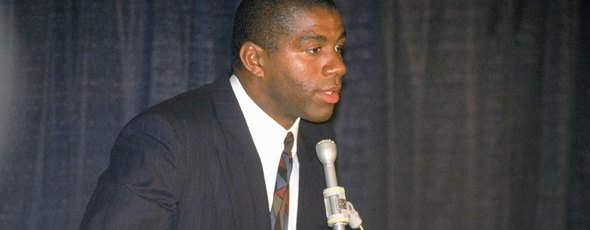 Magic Johnson retirada Lakers
