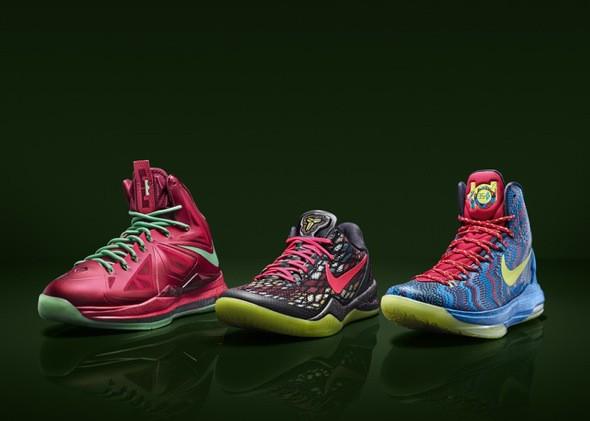 Nike zapatillas Navidad Kobe LeBron Durant