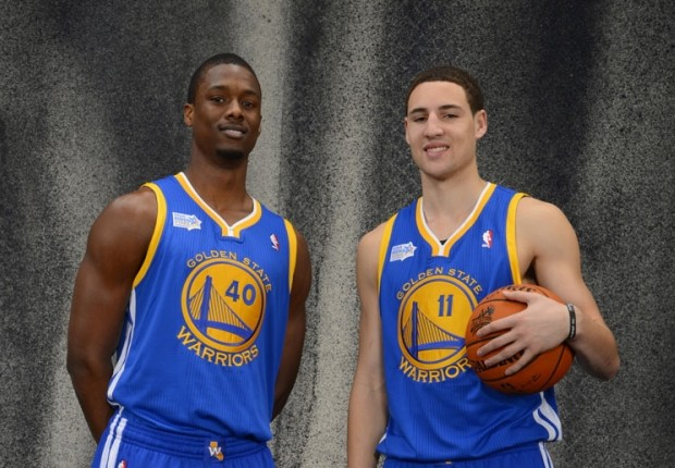 klay thompson y harrison barnes