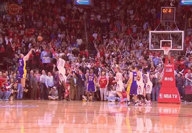 Steve Blake contra Houston Rockets