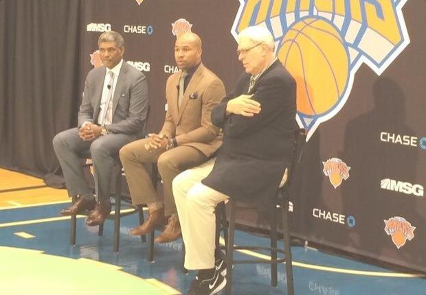 Derek Fisher entrenador Knicks