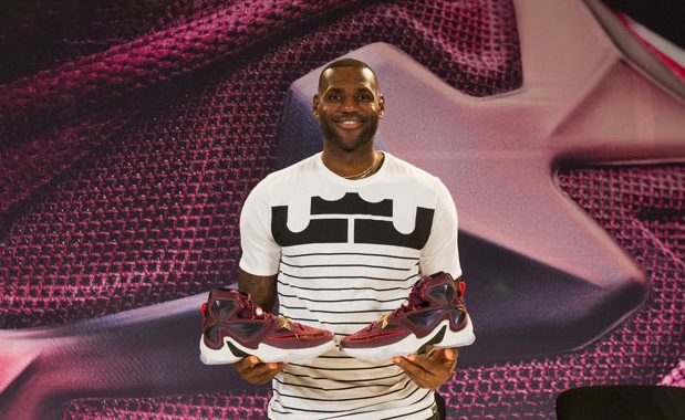 LeBron James Nike 13