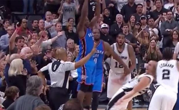 Final Spurs Thunder