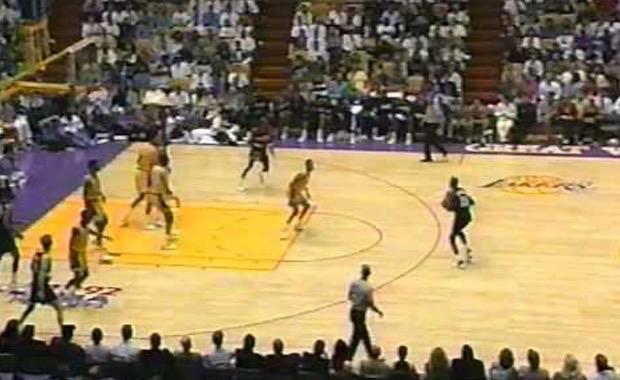 Lakers Trail Blazers 1992 Playoffs