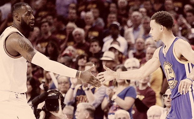 Warriors Cavs Curry LeBron