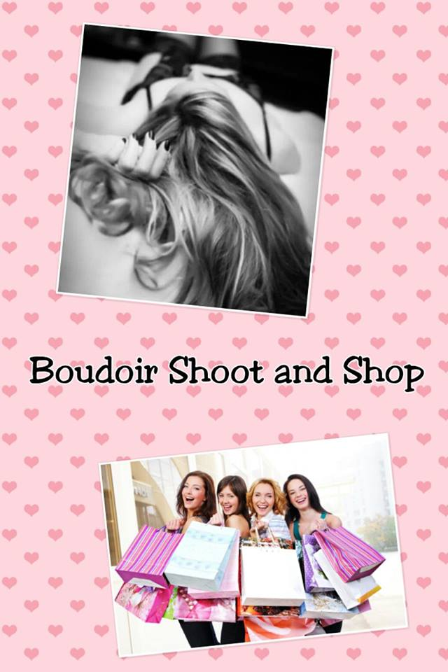 boudoir shoot and shop