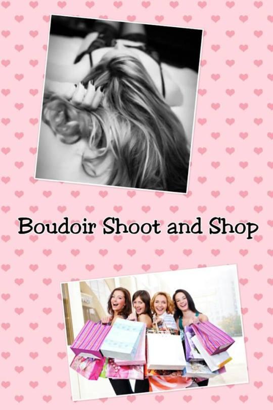 boudoir shoot and shop