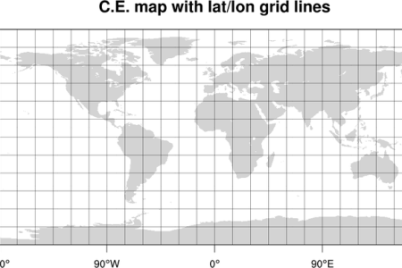 Map On Grid - Us map with grid