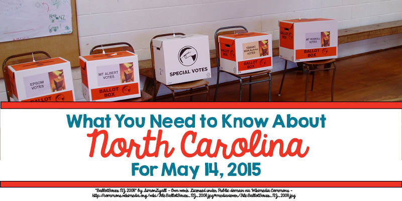 What You Need to Know About North Carolina for May 14, 2015