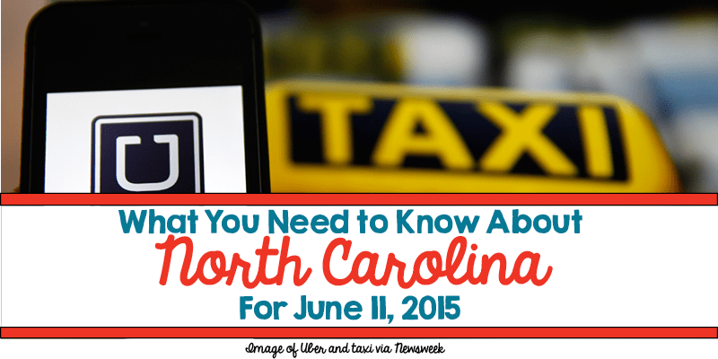 What You Need to Know About North Carolina for June 11, 2015