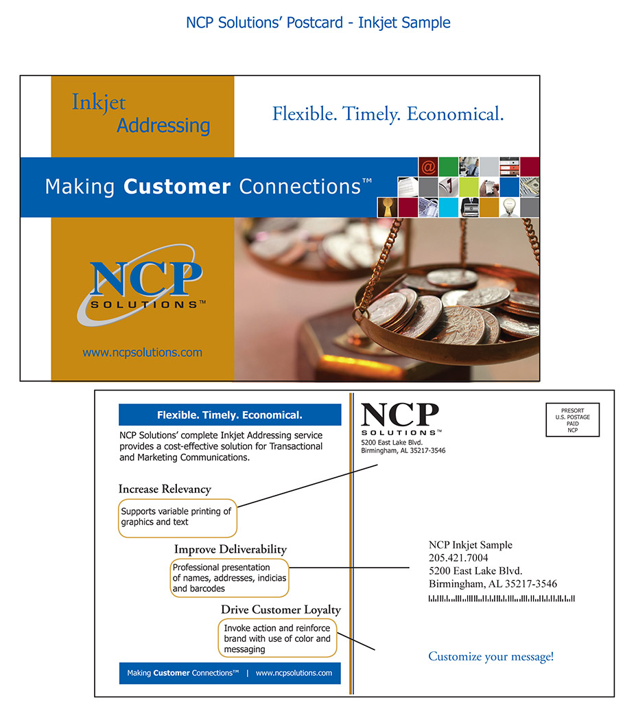 Double Click To Enlarge Inkjet Addressing Ncp Llc Addressing A Postcard From Uk To Us Addressing A Postcard Usps inspiration Addressing A Postcard