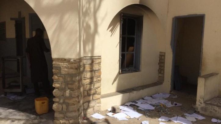 ( Photos) Le visage pitoyable de l'école Cheikh TOURE après les manifestations.
