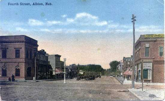 History of Albion Nebraska