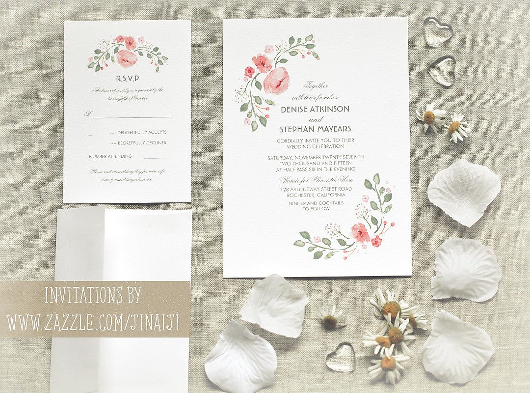 cool wedding invites cool wedding invitations watercolor flowers cute wedding invitations
