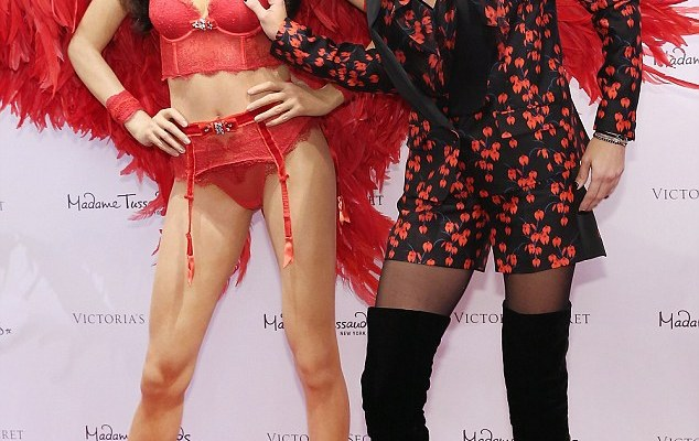 Adriana Lima has been immortalized as a Madame Tussauds wax figure