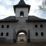Manastirea Bixad poarta