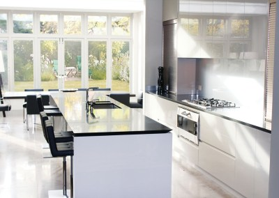 Handleless Urban Kitchen Notting Hill Neil Norton Design