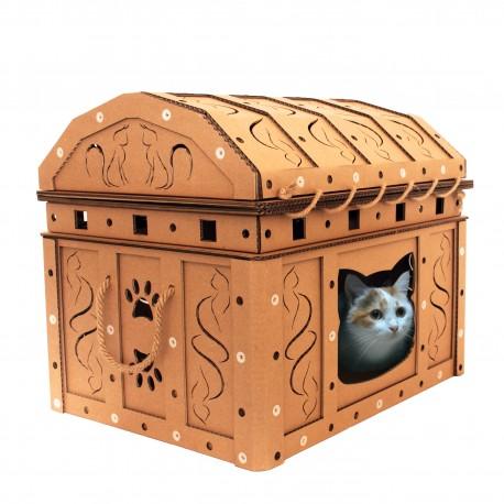 【猫ネタ】これダンボール!?ダンボール好きの猫におすすめのスゴイ猫ハウスとは・・・!?