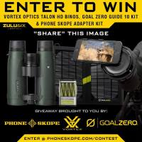 Phone Skope, Vortex Optics, and Goal Zero Giveaway!
