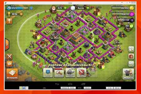 clash of clan ordinateur pc 970x670