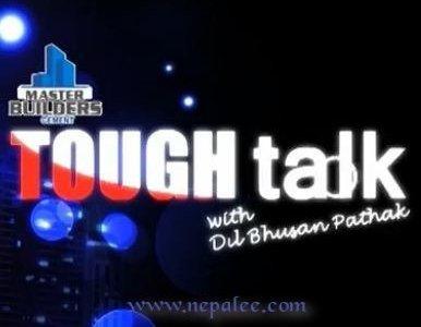 Nilambar Acharya in TOUGH talk