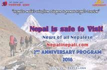 nepal is save for