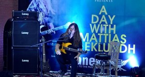 Mattias Ia Eklundh Guitar Clinic held at Tone Music Store Nepal