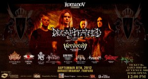 Decapitated Nepal Tour – Nepfest IV September Line up Announced