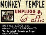 Monkey Temple Unplugged Attic Bar