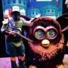Look! I bagged a giant Furbie!