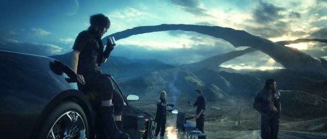 Final Fantasy XV car