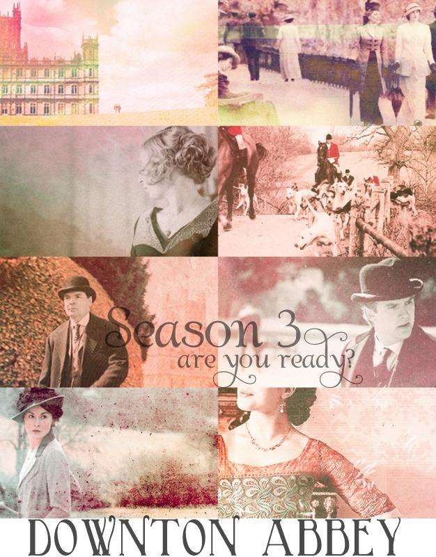 Downton Abbey Season 3...are you ready?