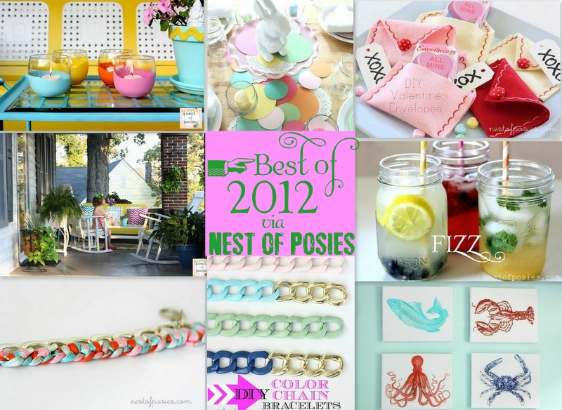 The Best of 2012 via Nest of Posies
