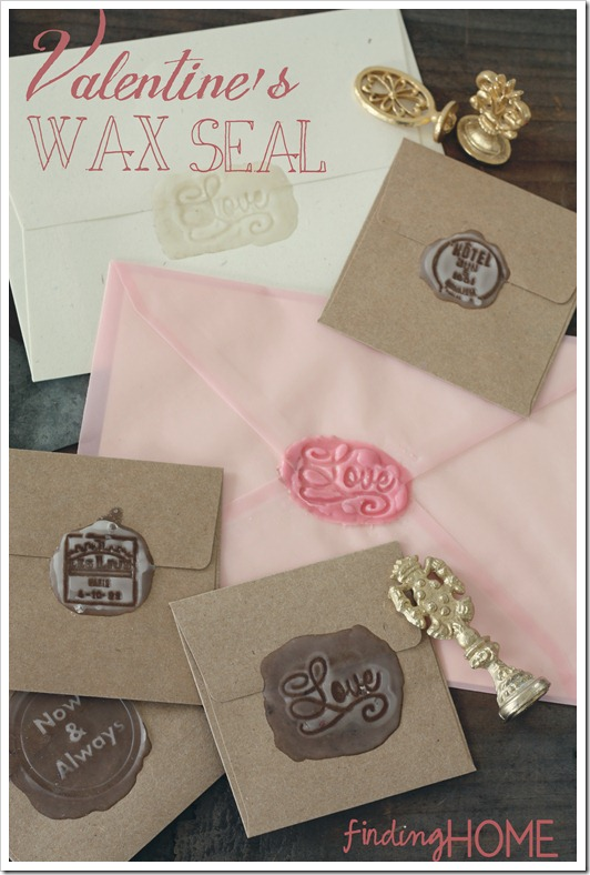 Wax Seal for your Valentine Envelopes