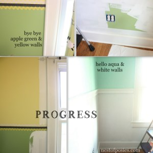 Home projects, old closets & embarrassing photos
