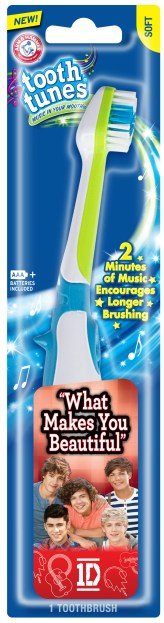Arm & Hammer's One Direction Tooth Tunes Toothbrush