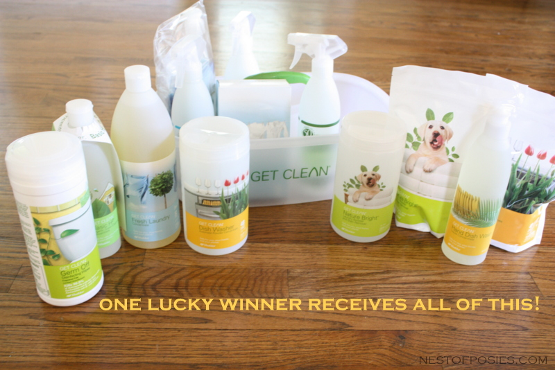 Shaklee Starter Kit Giveaway!  via Nest of Posies