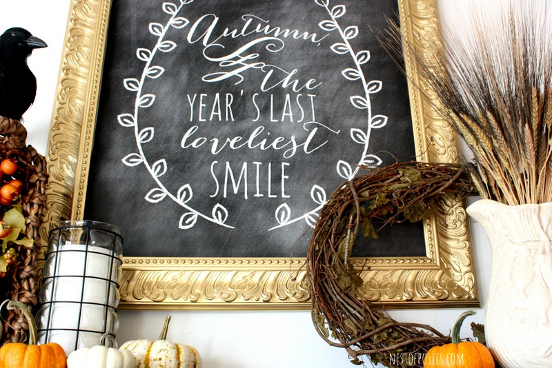 Make a poster size Chalkboard Graphic for only 4 dollars