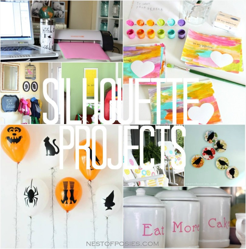 The possibilities are endless!  Enter to win a Silhouette Portrait Machine