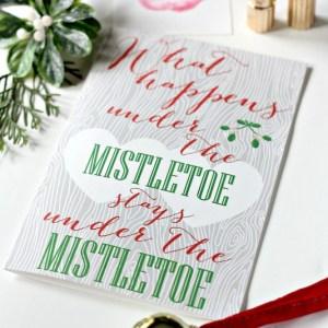 Mistletoe Love Note