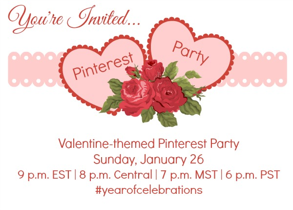 Year of Celebrations PInterest Party