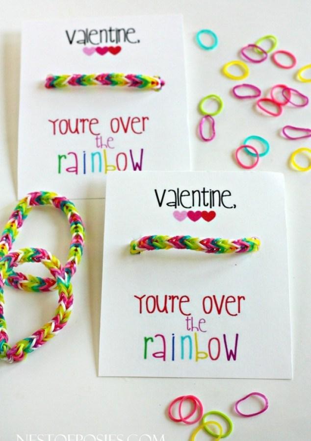 You're over the rainbow LOOM bracelet