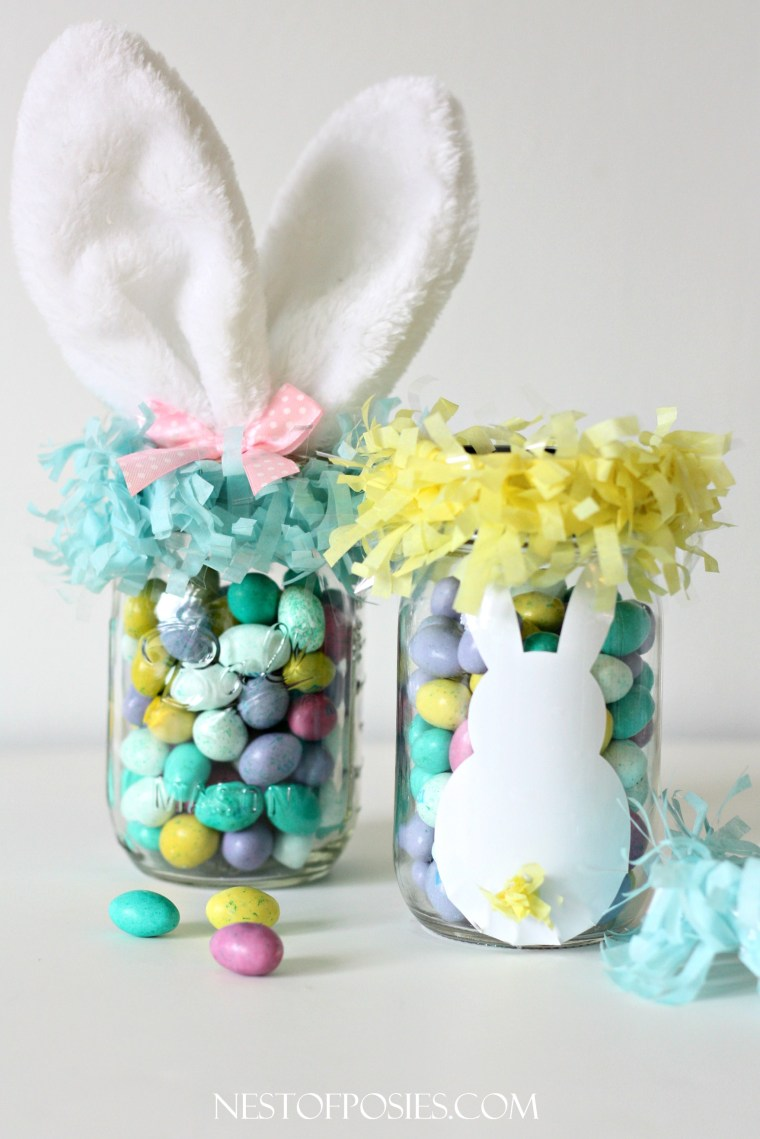 Mason Jar Easter Basket Ideas