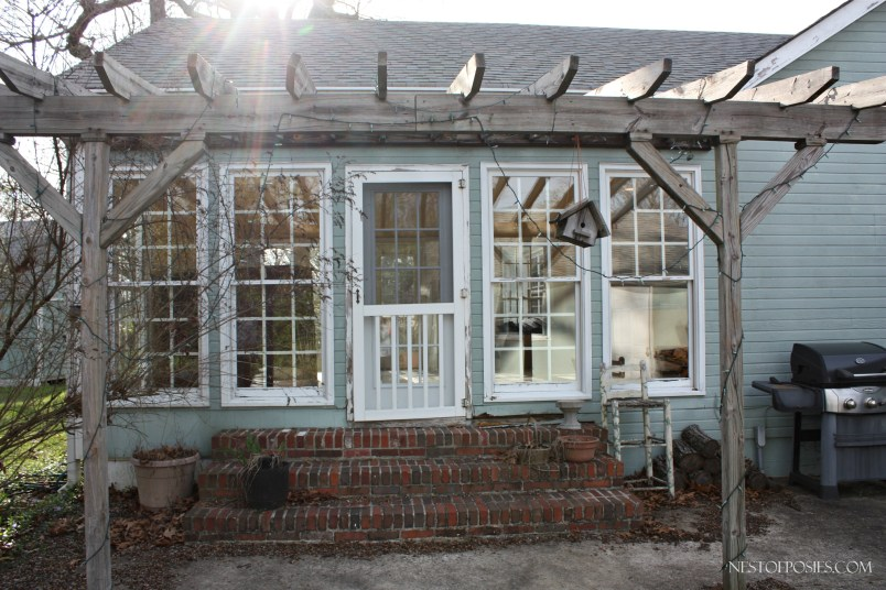 The Sunroom and Pergola