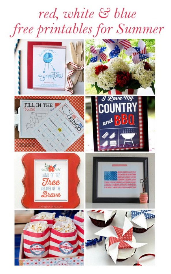 free printables for Summer