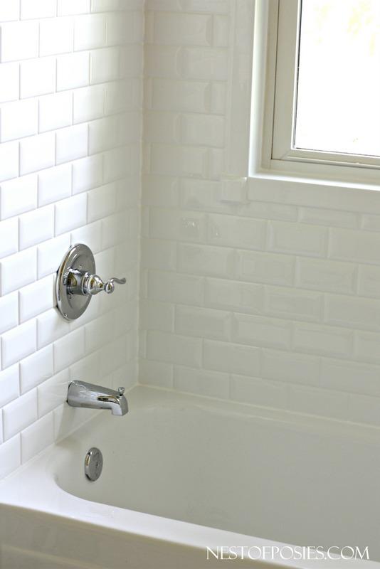 New Subway Tile Bath (ReBath)