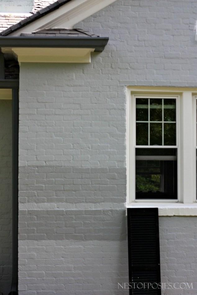 Exterior gray paint colors - Warm grey exterior paint colors set ...