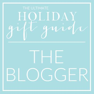 Gift Guide for the Blogger