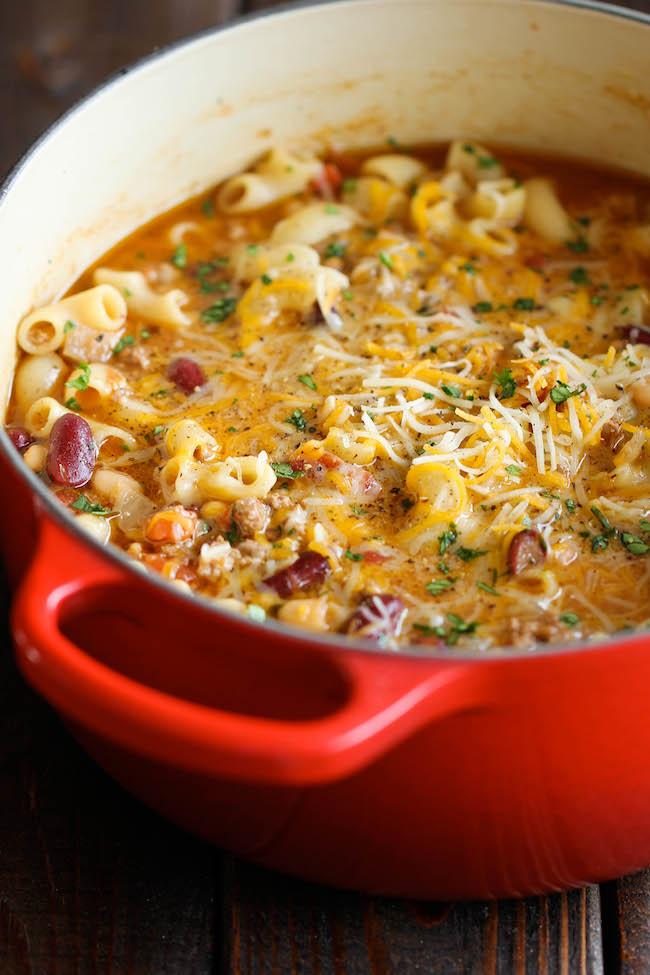 chili mac and cheese recipe