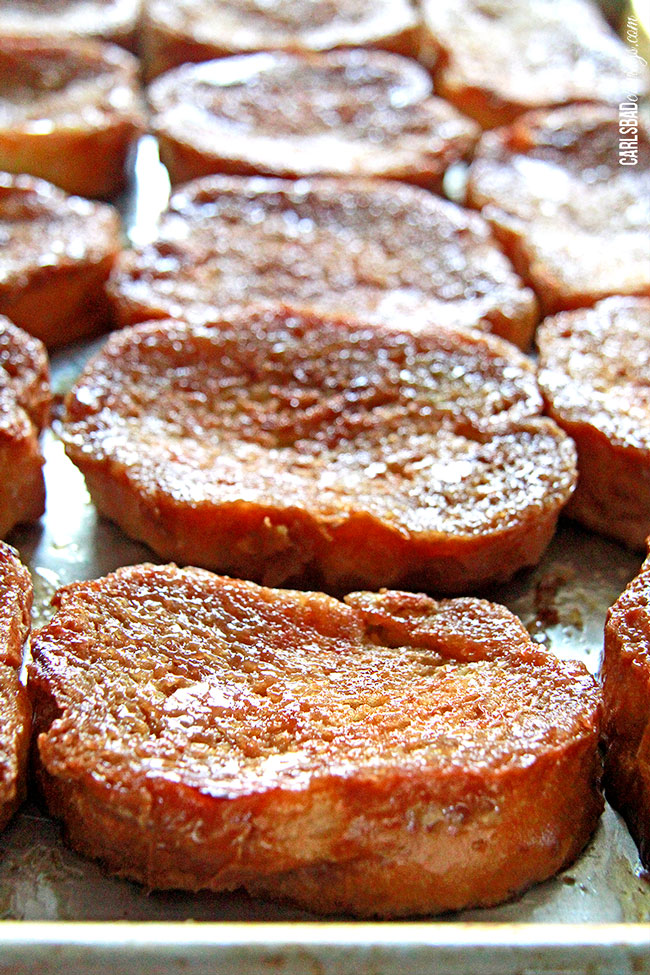 Overnite Creme Brulee French Toast from Carlsbad Cravings